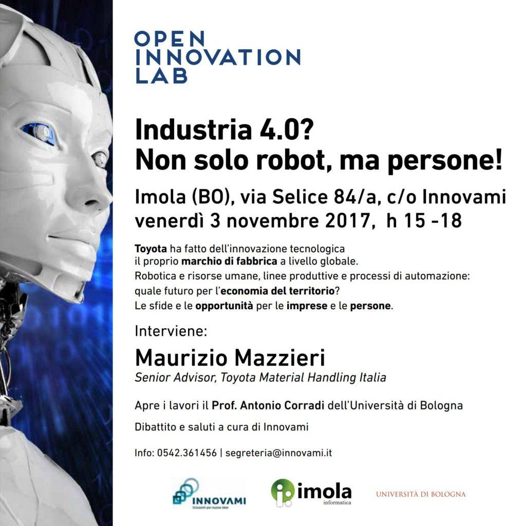 Industria 4.0? Non solo robot, ma persone!